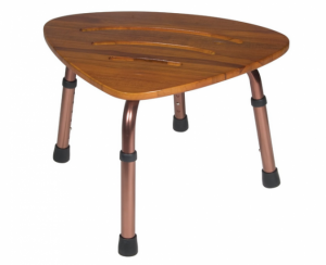 Senior-Planet-Drive Medical-Teak-Bath-Bench-Stool