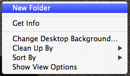 how to put folders anywhere on desktop