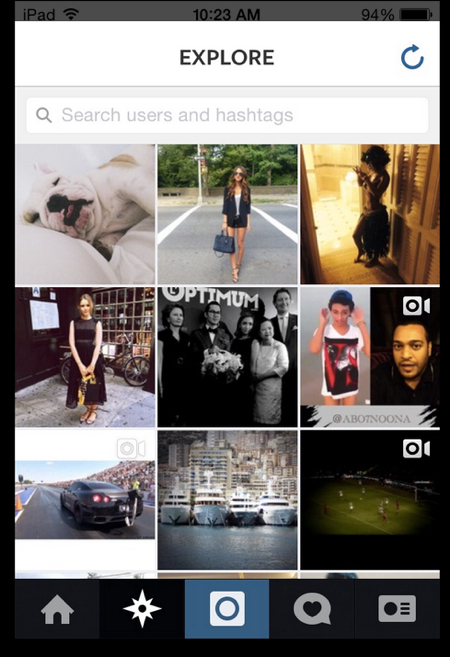 how to follow people on Instagram