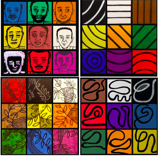 Faith Ringgold: Four game designs from Quiltuduko