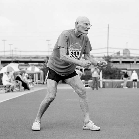 Seymour, 88, high jumper. Louisville, Kentucky.