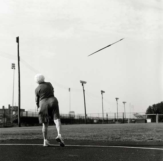 Helen, 87, javelin. Louisville, Kentucky. 2007.