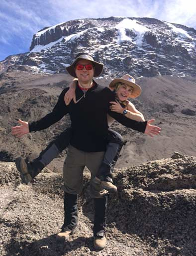 Tovah-Feldshuh-and-Brandon-Levy-Kilimanjaro-senior-planet