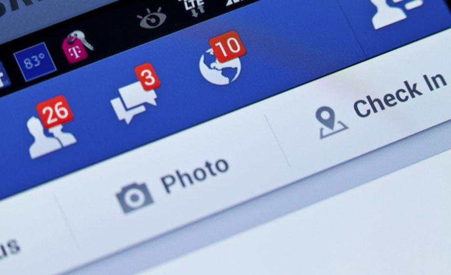 facebook-interface