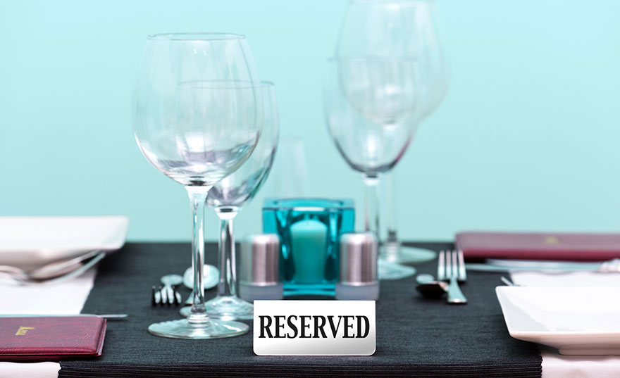 restaurant-reserved-sign