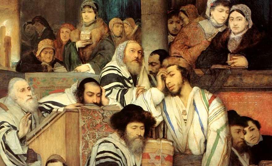 Yom-Kippur-painting-Maurycy-Gottlieb