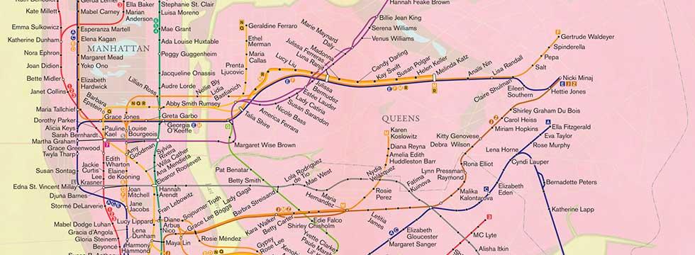 Rebecca Solnit Women Subway Map.Talk Rebecca Solnit City Of Women Senior Planet
