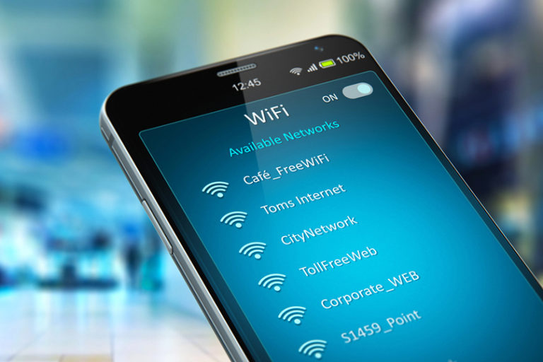 wifi networks on a mobile phone