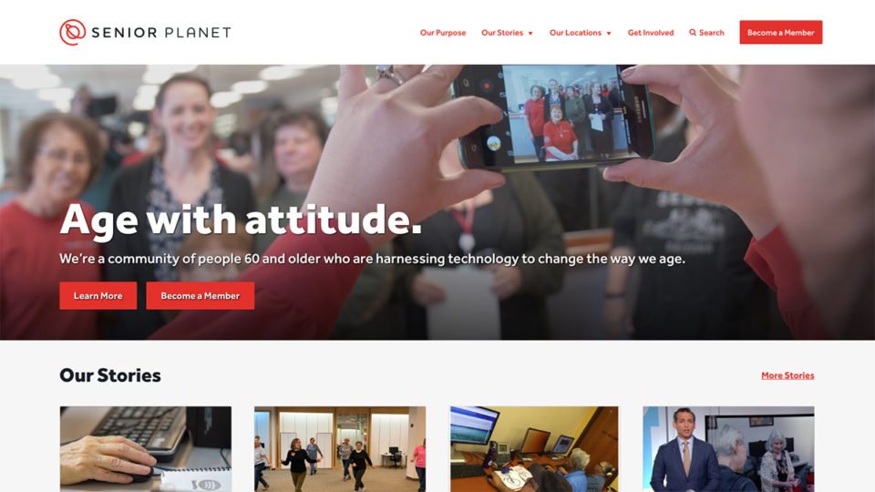 Senior Planet Website